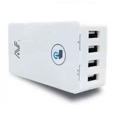 AVF AUTAM02 4 Port USB UK Type Power Adapter With Touch LED Switch (MAX5.6A) Malaysia