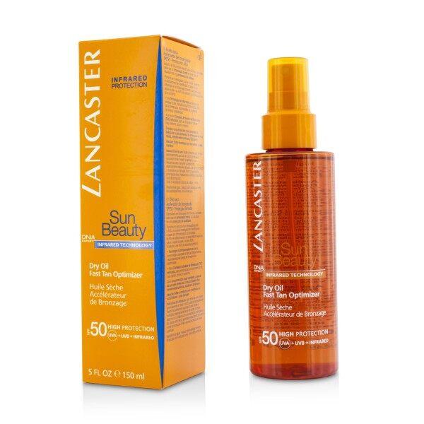 Buy LANCASTER - Sun Beauty Dry Oil Fast Tan Optimizer SPF50 150ml/5oz Singapore