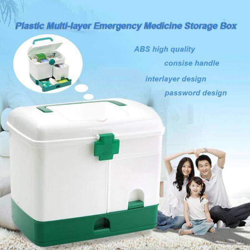 Medicine Storage Box Case Multi-layer First Aid Kit Big Capacity Drawers Medicine Cabinet Storage Organizer
