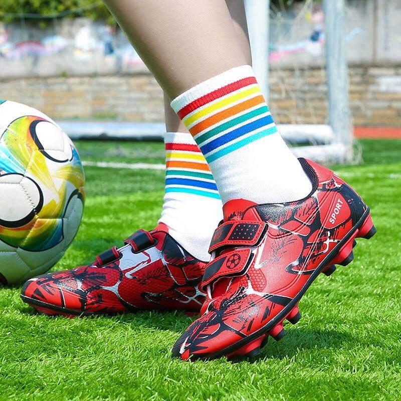 YEALON Giày Đá Bóng Trẻ Đá Bóng Sepatu Futsal Giày Thể Thao Trẻ Em Mềm Giày Futsal Sepatu BOLA Giày Đá Bóng bé trai Sepatu Futsal Thông Số Kỹ Thuật Superfly Ban Đầu Banh Sepak Futsal Trẻ Em Size28-39 12