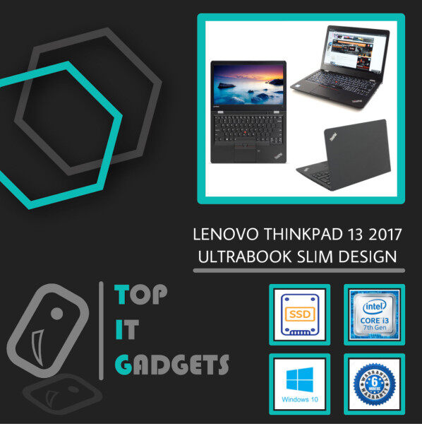 LENOVO THINKPAD 13 ULTRABOOK BUSINESS [ INTEL CORE I3 7TH GEN KABY LAKE / 8GB DDR4 RAM / 128GB SSD STORAGE / WINDOW 10 PRO GENUINE ] 6 MONTHS WARRANTY [ LAPTOP ] Malaysia