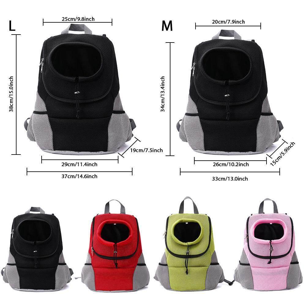 LightSmile Outdoor Pet Dog Carrier Bag Pet Dog Front Bag New Out Double  Shoulder Portable Travel 1f6468b533