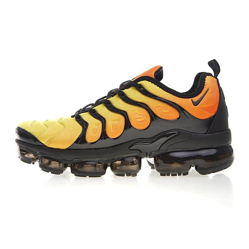 39040a8fbf9a6 Original New Arrival Authentic Nike Air Vapormax Plus TM Men s Comfortable Running  Shoes Sport Outdoor Sneakers