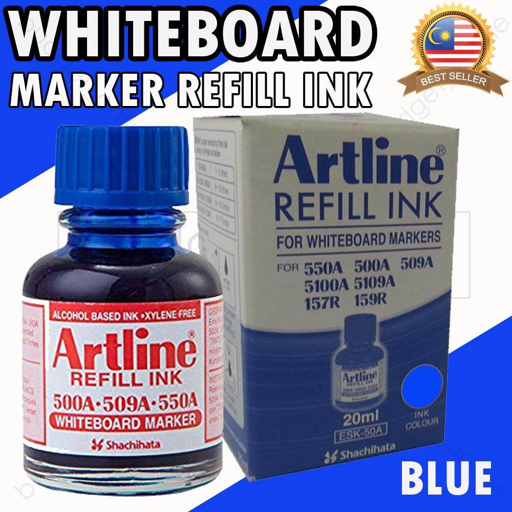 Artline Whiteboard Marker Refill Ink Red, Black & Blue 20 Cc/ml By Budgetonline.