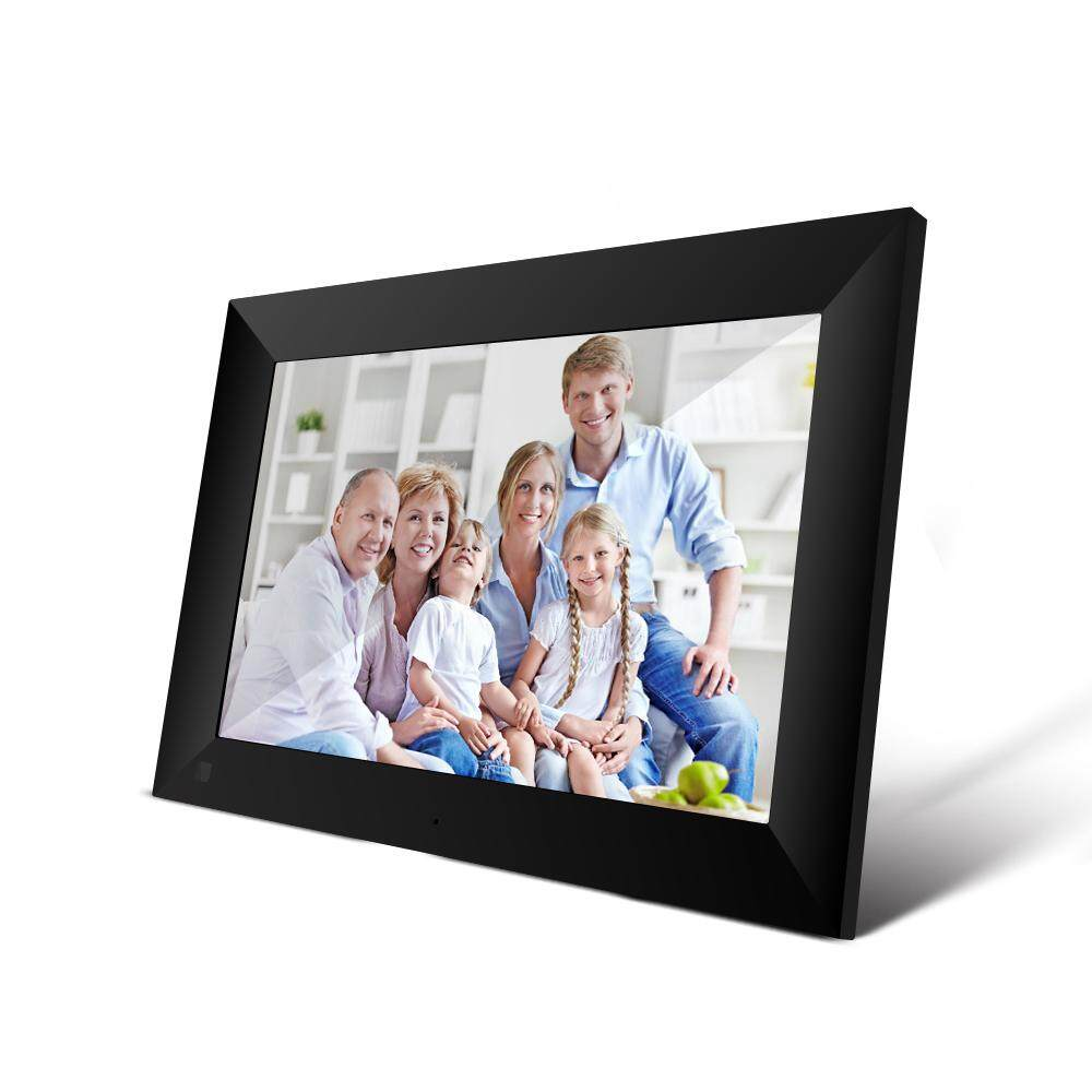 Docooler P100 WiFi Digital Picture Frame 10.1-inch 16GB Smart Electronics Photo Frame APP Control Send Photos Push Video Touch Screen 800x1280 IPS LCD Panel
