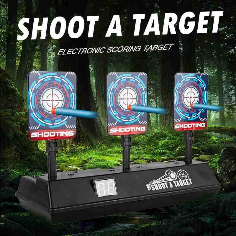 Yuchen Supermall Children Electric Score Bullet Target Toy For Nerf Toys Soft Bullets Blaster (not Include Toy Or Bullets) By Yuchen.
