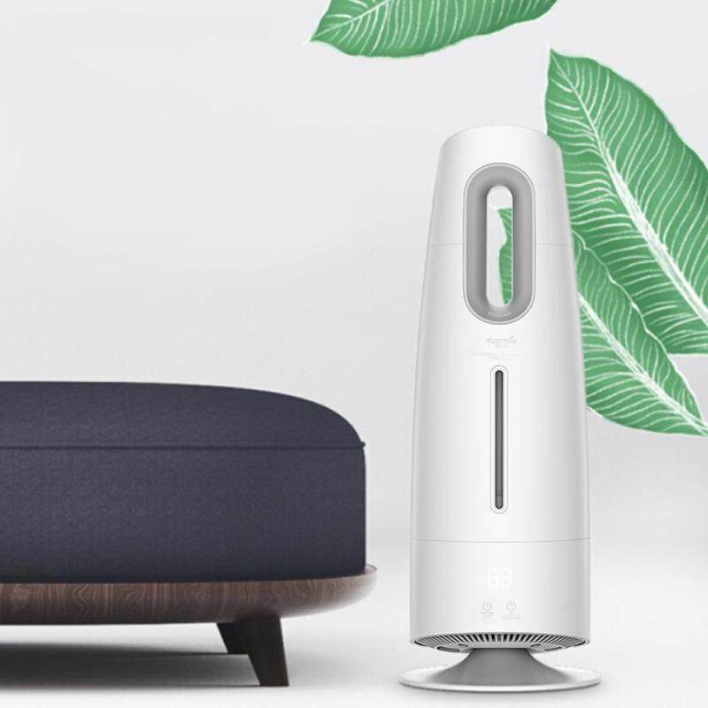 Original Xiao mi DEERMA Humidifier DEM-LD700 Unstranic Mist 4L Air Purifying for Air Conditioned Rooms Office household With Filter Singapore