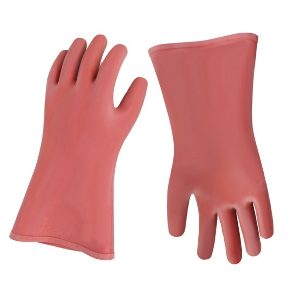 【Ready】12kv High Voltage Insulated Safety Electrical Insulating Gloves for Electricians