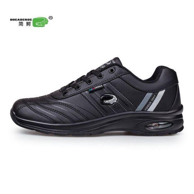 Chính Hãng Không Thấm Nước Golf Giày Spikeless Cho Nam Giới Ngoài Trời Mùa Xuân Mùa Hè Trọng Lượng Nhẹ Golf Giảng Viên Giày Người Đàn Ông Thể Thao Sneakers giá rẻ