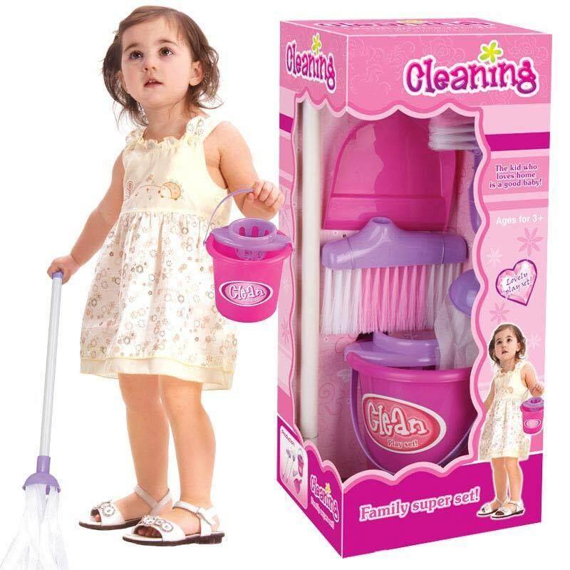 1 Bộ Trẻ Em Trẻ Vai Trò Chơi Đồ Chơi Mô Phỏng Bộ Vệ Sinh Đa Năng Nhựa An Toàn Giá Tốt Không Nên Bỏ Qua