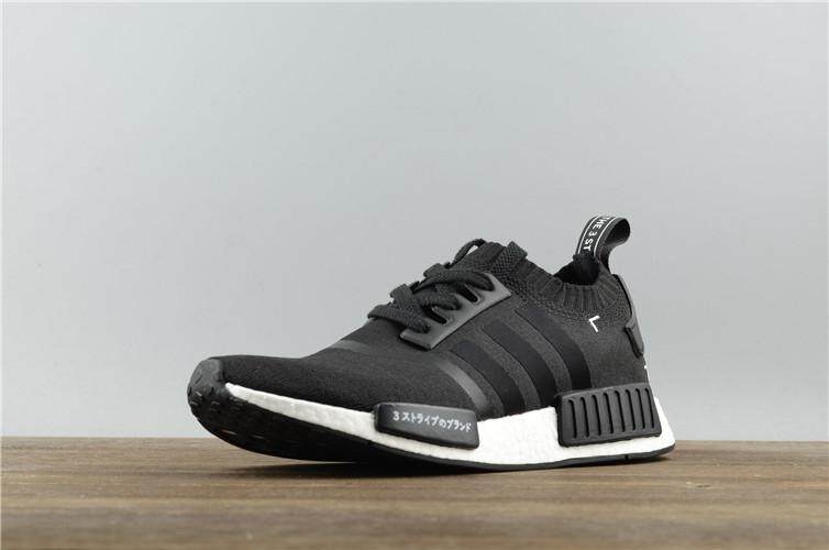 7beadb3781605 Adidas Original NMD R1 Primeknit Black Japan Truth Boost WOMENS Running Shoe  Discounted ( Black )