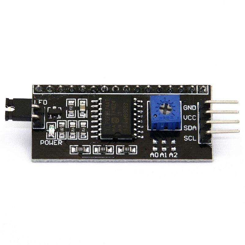 IIC I2C TIẾNG TWI SP TÔI Nối Tiếp 1602 Màn Hình LCD Hiển Thị Màn Hình Module Đèn Nền Cho Arduino
