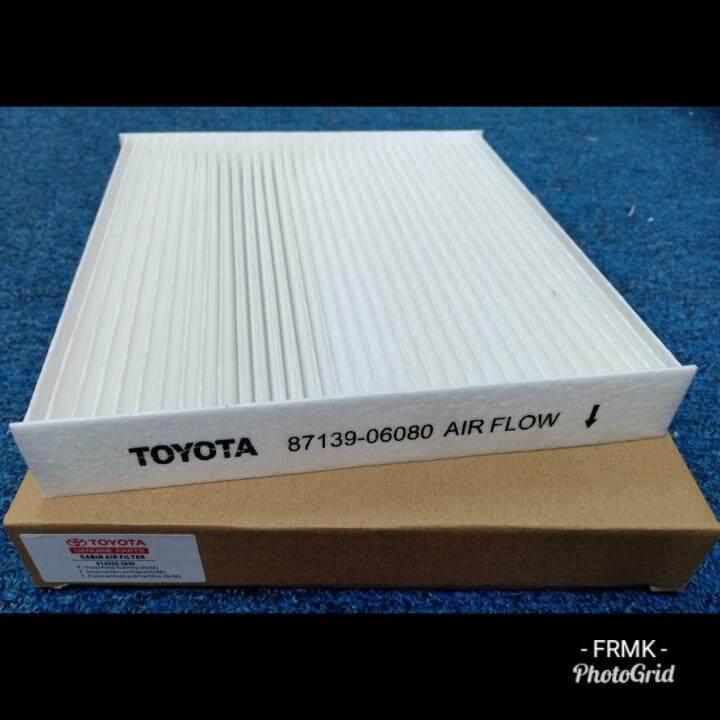 3pcs Cabin Air Filter Toyota Vios/altis/camry/innova/alphard/vellfire/estima/hiace By Frmk.