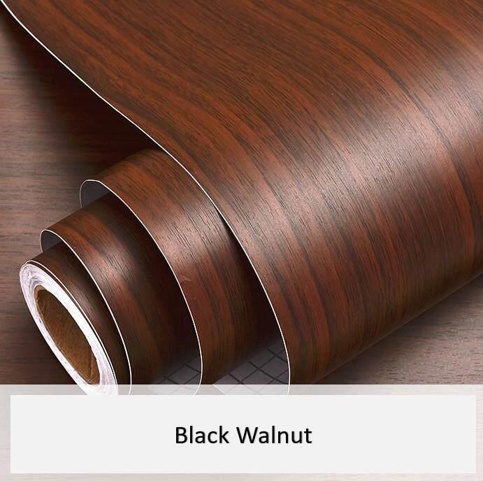 60x500cm Self-adhesive Furniture Wardrobe Wood Grain Renovation Sticker wallpaper