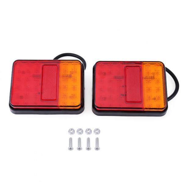 2 Chiếc Đèn Hậu LED 12 V 30 Đèn Cảnh Báo Đuôi Sau Cho Xe Moóc Xe Tải Thuyền