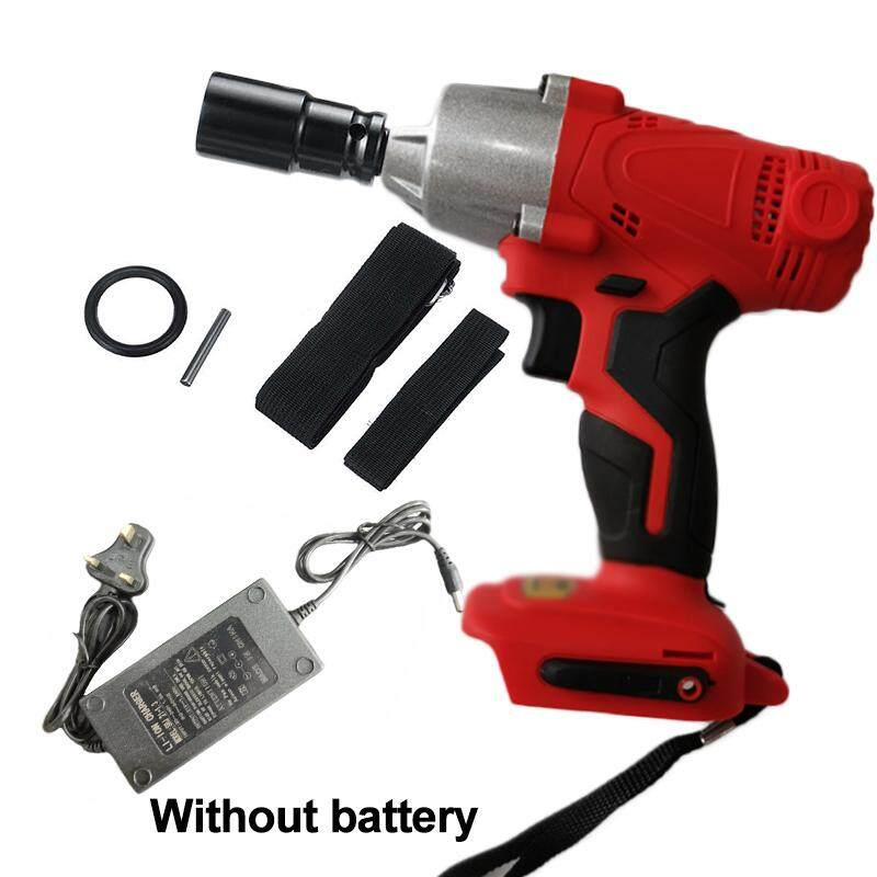 Charger Impact Wrenches Sleeve DC Adaption Rechargeable LED Light Waterproof Drilling Power tool