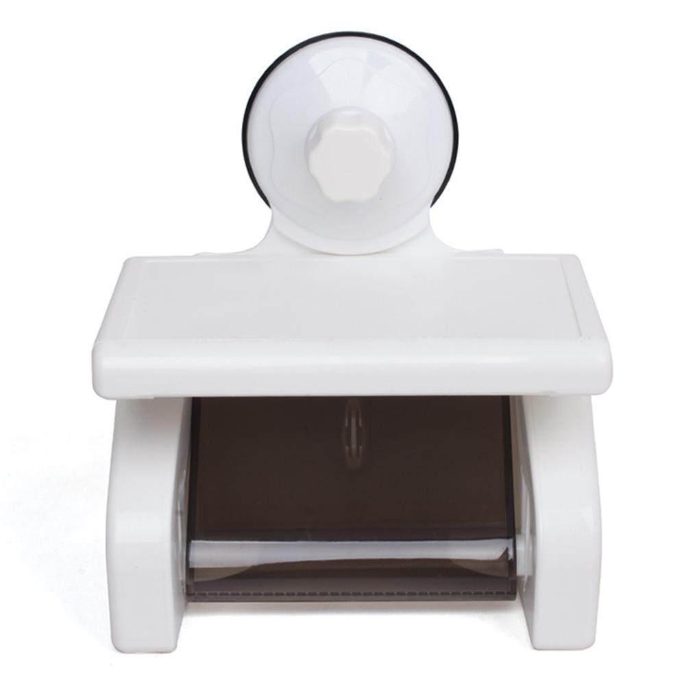 Powerful Wall Suction Toilet Waterproof Roll Tissue Heavy Duty Bathroom
