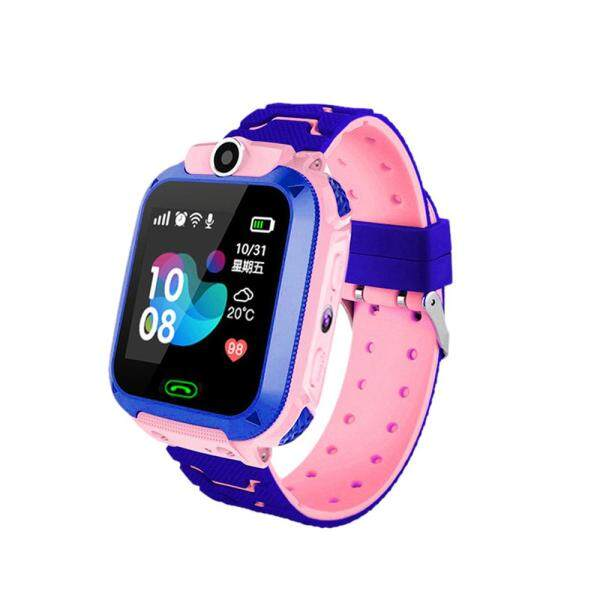 Nơi bán Đồng hồ thông minh q12b cho trẻ em, đồng hồ điện thoại thông minh cho thẻ Sim Android IOS 2G