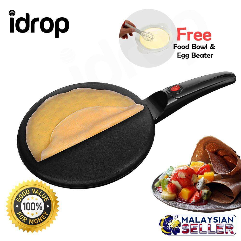 Non-stick 22cm Electric Crepe Maker Pan for kitchen cooking tools