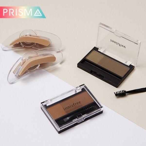 Buy Innisfree Easy stamping brow&Twotone Eye Brow Kit Singapore