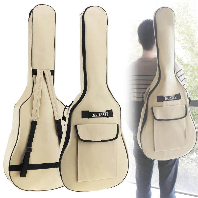 40 / 41 Inch Waterproof Oxford Fabric Guitar Case Gig Bag Double Straps Padded 5mm Cotton Soft Backpack 2 Color Optional Malaysia