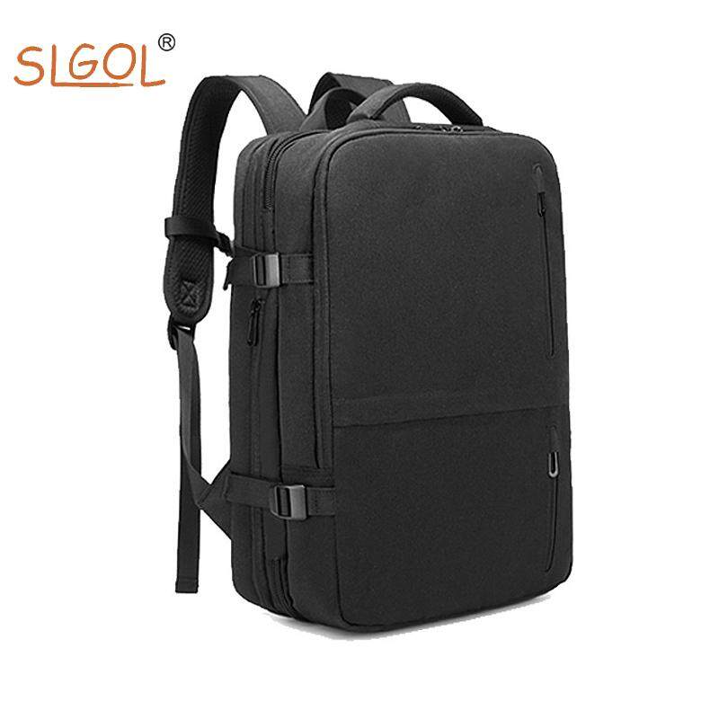 Laptop Backpack, Business Travel Laptop Backpack with USB Charging Port for Men Women, Fits to 15.6 Inch Laptop & Notebook by SLGOL-direct
