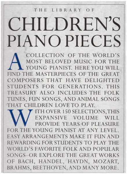 The Library Of Childrens Piano Pieces / Piano Book / Music Book / Classical Piano Book Malaysia