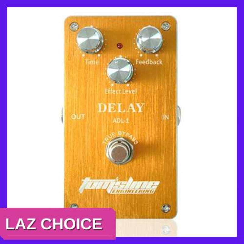 LAZ CHOICE Aroma ADL-1 Delay Electric Guitar Effect Pedal Aluminum Alloy Housing True Bypass (Yellow) Malaysia