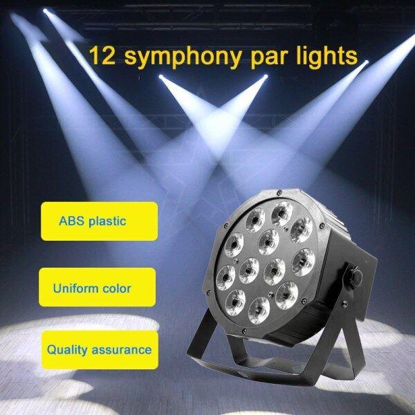 Đèn Par Led 12X12w Rgbw 4In1 Par Led Dmx512 Sàn Nhảy Đèn Sân Khấu Chuyên Nghiệp Thiết Bị Dj