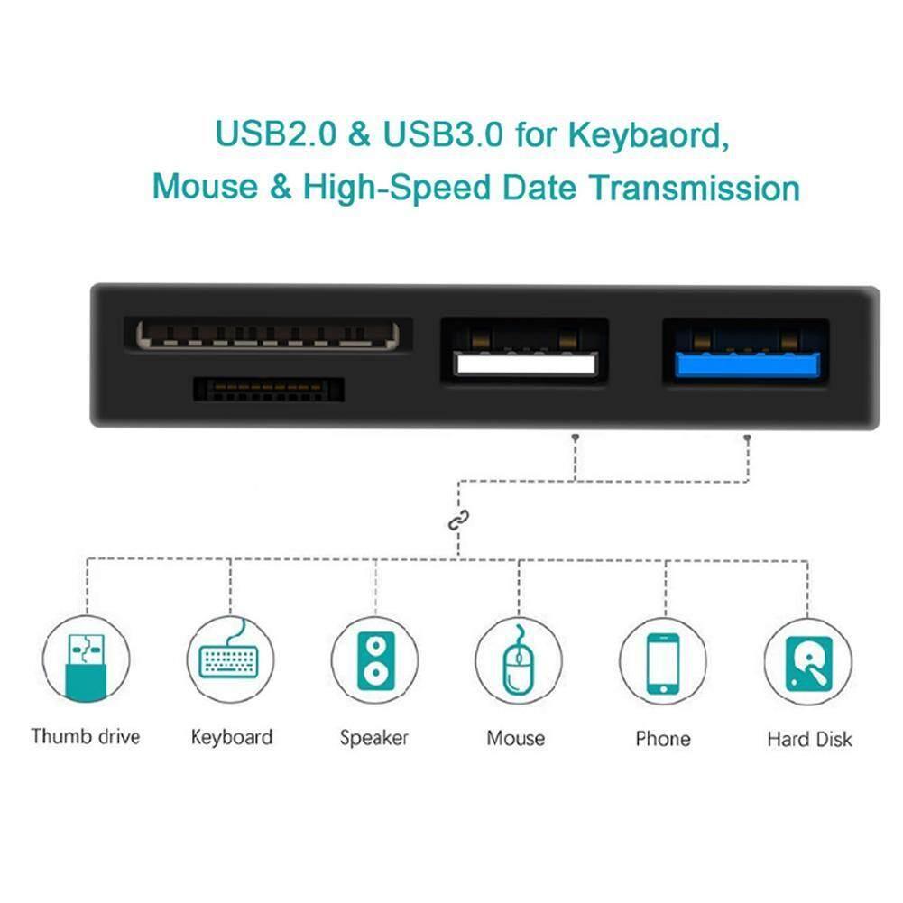Dreamall Rocketek RT-SGO727 USB Loại C USB2.0 USB3.0 Đầu Đọc Thẻ Nhớ Đa Năng HUB - 7