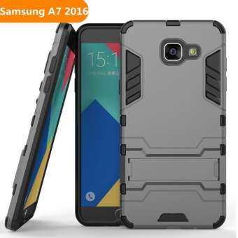 สำหรับ Samsung Galaxy A7 2016/A710 กรอบซิลิคอนกรอบกันกระแทกพลาสติกแข็งเคสโทรศัพท์ผู้ถือ-