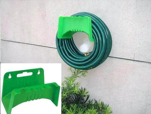 GARDEN HOSE WALL HANGER REEL HOLDER
