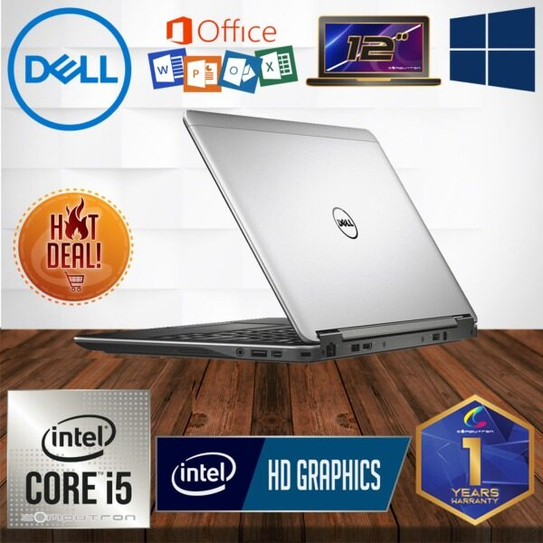 DELL LATITUDE E7240 ULTRABOOK [ CORE I5-4300U / 4GB RAM/ 128GB SSD / WINDOW 10 PRO ] 1 YEAR WARRANTY [ LAPTOP ] Malaysia
