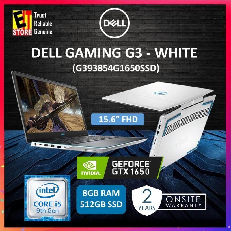 DELL GAMING G3 WHITE (G393854G1650SSD)(I5-9300H/8GB/512GB SSD/15.6FHD/4GB GTX 1650/W10/2YRS) Malaysia