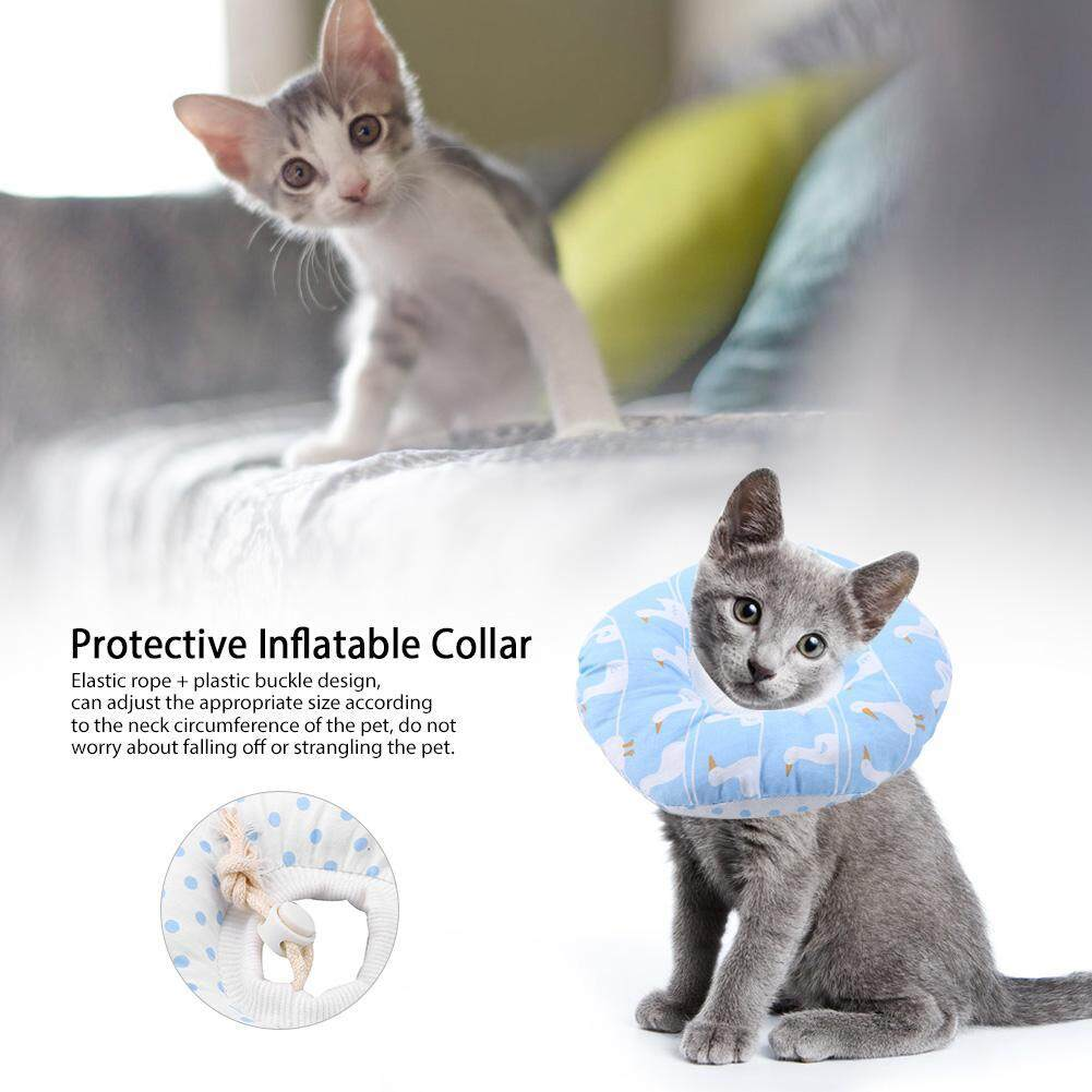 Deetee Elisabeth Protective Inflatable Collar After Surgery Healing Collar Healthy Shield By Deetee Shop.