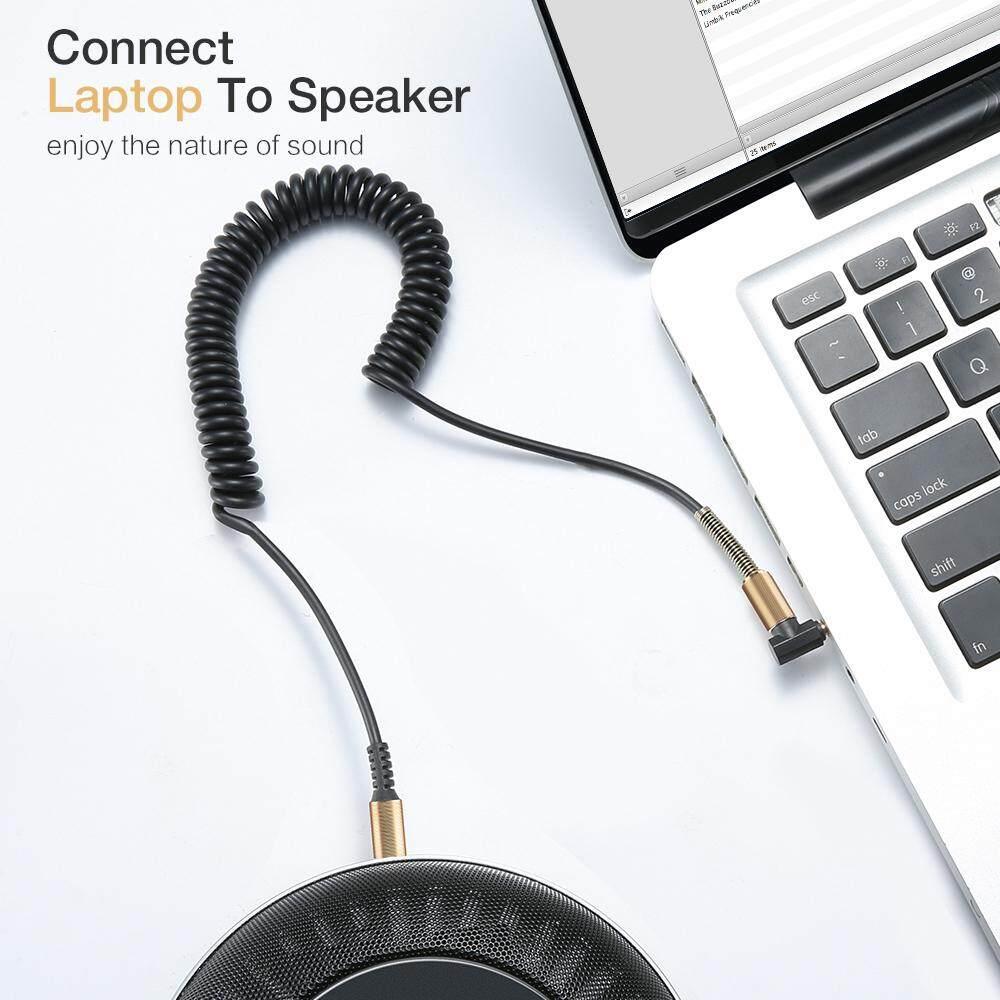 Image 5 for RAXFLY 3.5 มม.สายออดิโอ 3.5 แจ็คต่อแจ็ค AUX หูฟังสายสำหรับ iPhone รถชายชายสายเอยูเอ็กซ์สายสปริง