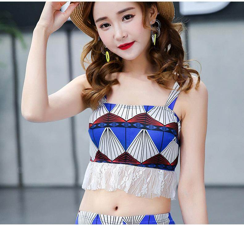 Summer New Korean Version Of The Simple Fashion Casual Sexy Bikini Beach Sunscreen Holiday Quick-Drying Ladies Swimsuit By Zhizhixiang Store.