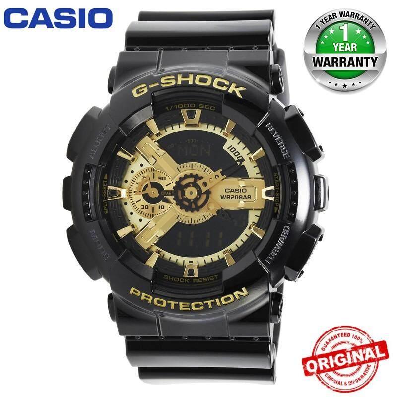 (Ready Stock) Original Casio G Shock_ GA110 Wrist Watch Men Women Electronic Sport Digital Watches GA110 GA-110 Malaysia