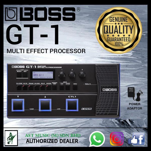 Boss Effect Pedal Boss GT-1 Guitar Effects Processor(GT1 / GT 1) Malaysia