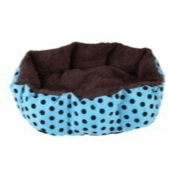 Pet Dog Cat Bed Cushion Mat Kennel Sleeping Bag House(blue 40cm*30cm)