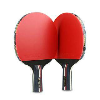 Professional Table Tennis Racket double-sided backing tape Long Short Handle raquette ping pong Paddle Ping Pong Racket Set thumbnail