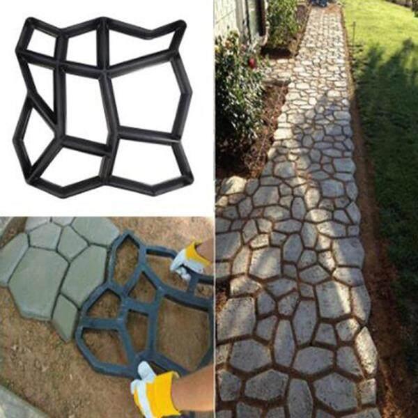 [The Encounters] Path Maker Mold Reusable Concrete Cement Stone Design Paver Walk Mould Reusable