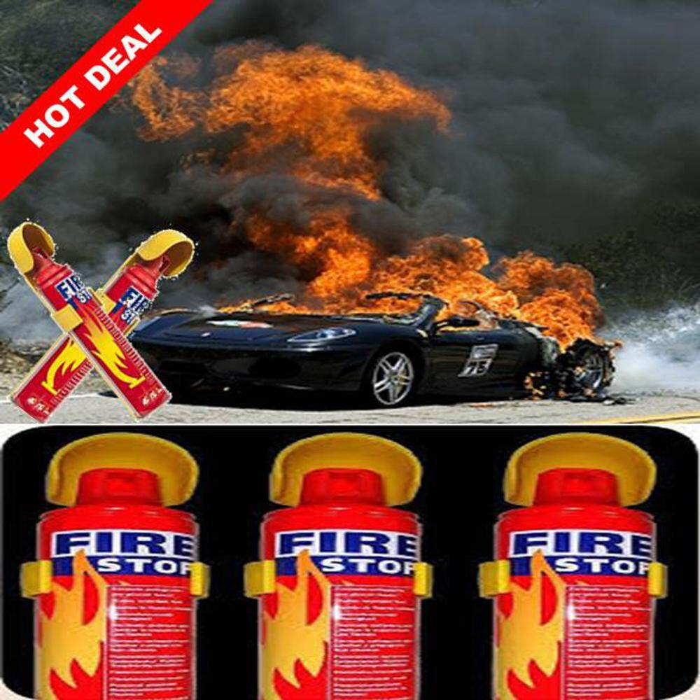 Instant Foam Stop Fire 500/1000ML Extinguisher Portable Spray Car Home
