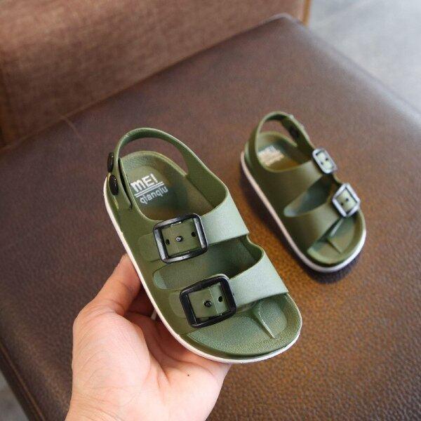 Giá bán Mùa Hè 2020 Bé Trai Giày Giày Anh 1-4 Năm Tuổi Bé Trẻ Em Của Trẻ Em Dép Trẻ Em Không-Dép Lê Trẻ Em