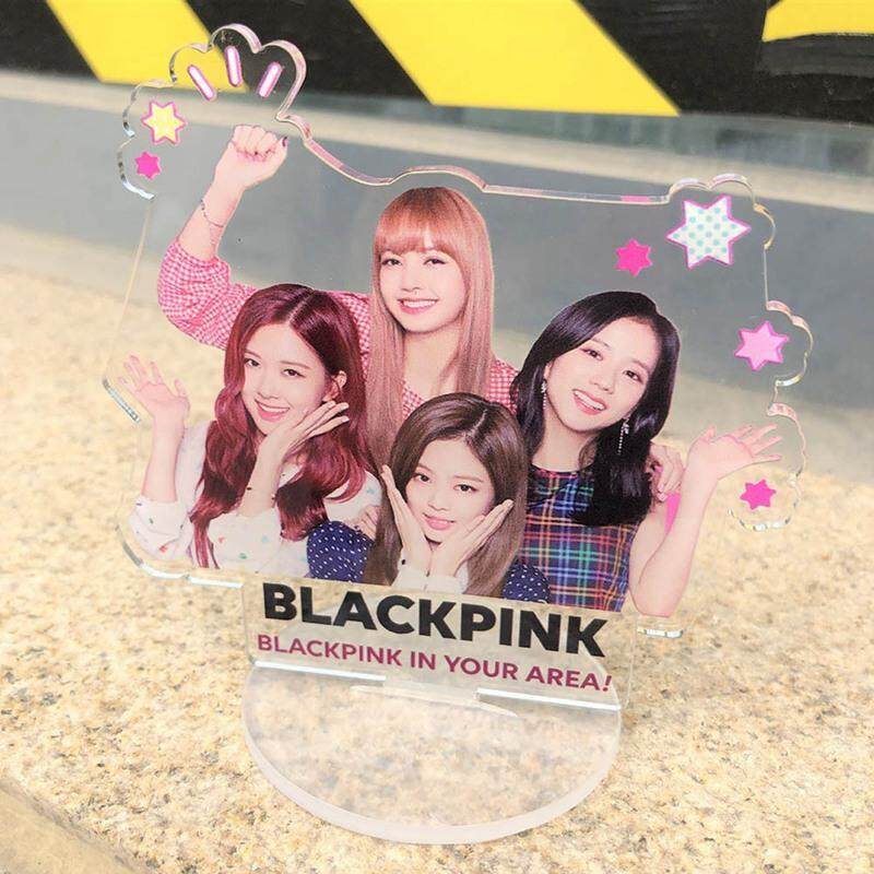 Candy Korea Pop Blackpink Real Person Standing Licensing Tabletop Decoration By Mycsndice.