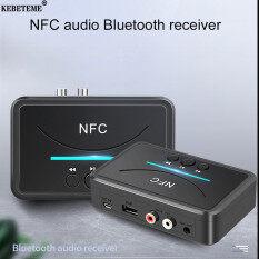 Bộ Thu Âm Thanh Bluetooth 5.0 KEBETEME BT200, Giắc Cắm AUX RCA Hifi NFC 3.5Mm, Bộ Chuyển Đổi Không Dây Tự Động Cho Xe Hơi, Bộ Chuyển Đổi Không Dây Tự Động