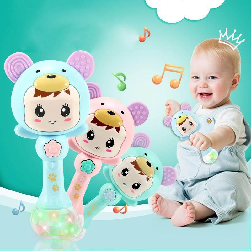 Baby Shaker Sand Hammer Toy Dynamic Rhythm Stick Baby Rattles Kids Musical Party Favor Musical Instrument Toys