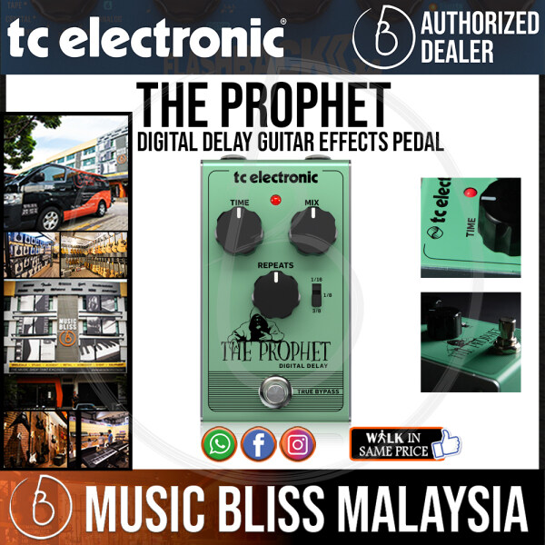 TC Electronic The Prophet Digital Delay Guitar Effects Pedal Crazy Sales Promotion Malaysia