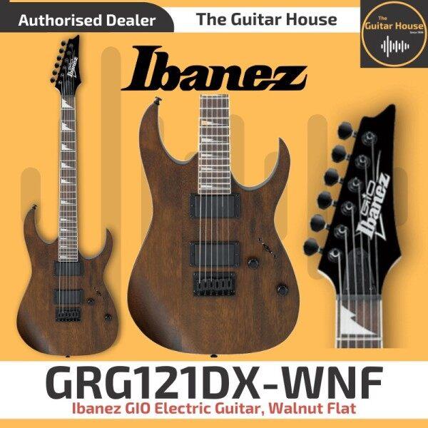 Ibanez GIO GRG121DX Electric Guitar, Walnut Flat (GRG121DX-WNF) Malaysia