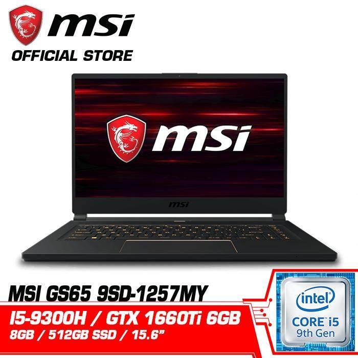 MSI GS65 9SD 1257MY (NVIDIA GeForce® GTX 1660 Ti) Malaysia